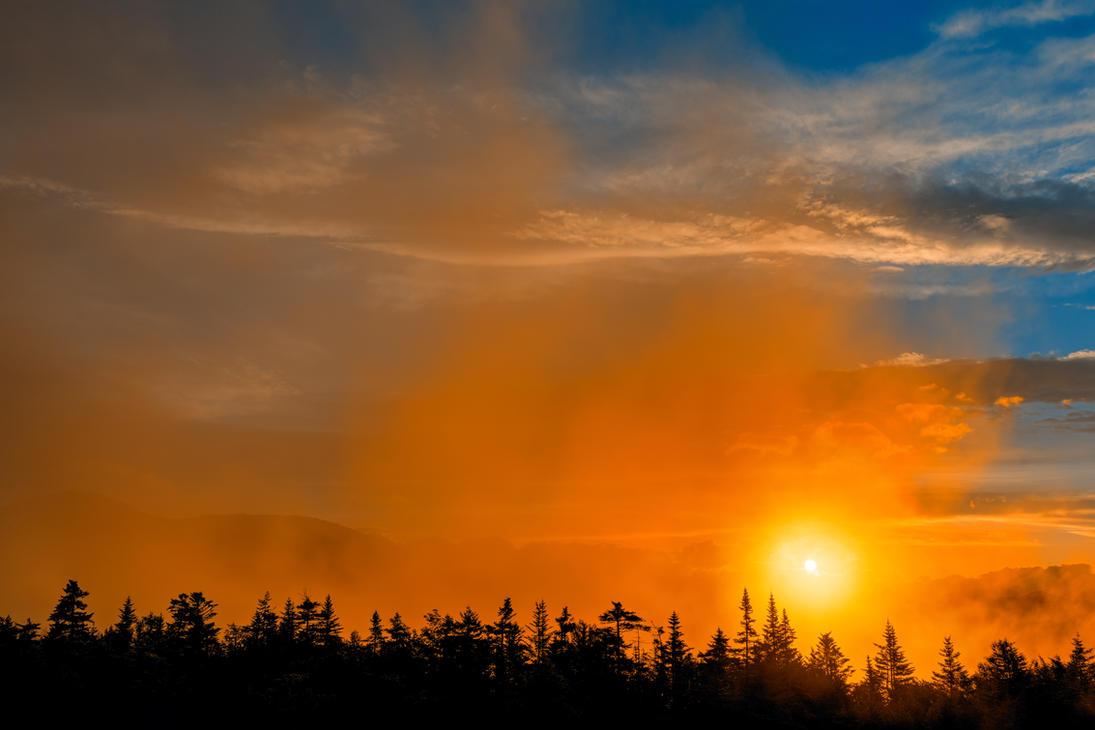 Gold Mist Sunset By Somadjinn On DeviantArt