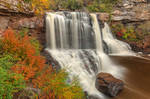 Blackwater Autumn Falls by boldfrontiers