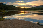 Lily Pond Sunset