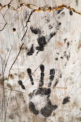 Grunge Wall Imprints by boldfrontiers