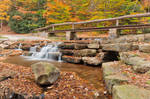 Autumn Roadside Cascades