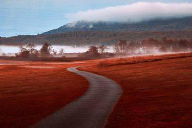 Misty Dawn Golf Course - Red Carpet Fantasy