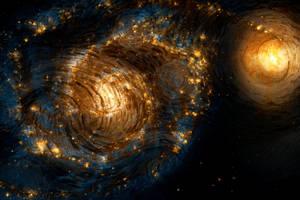 Starry Galaxy Night