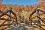 Bridge to Fall - Harpers Ferry by boldfrontiers