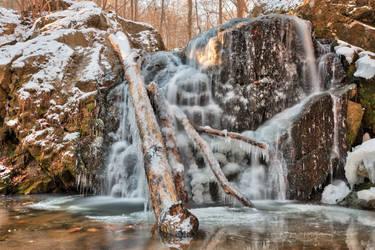 Frozen Cascade Falls (freebie) by boldfrontiers