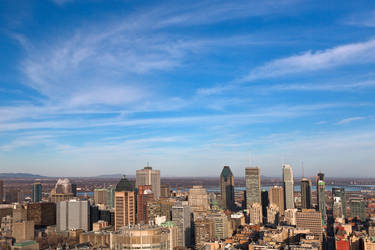 Montreal Skyline by boldfrontiers