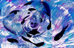 Acrylic Kanagawa Rose