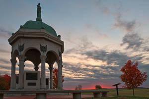 Antietam Dawn by boldfrontiers