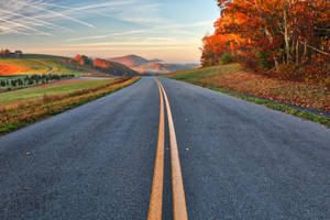 Blue Ridge Autumn Parkway by boldfrontiers