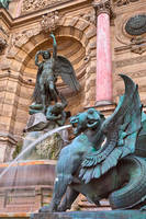 Saint-Michel Fountain II by boldfrontiers