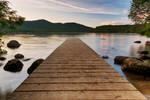 Lake Placid Sunset Jetty (freebie)