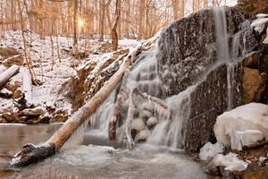 Frozen Cascade Falls II (freebie) by boldfrontiers
