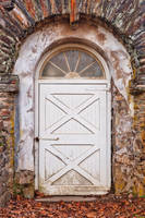 Rustic Arch Door by boldfrontiers
