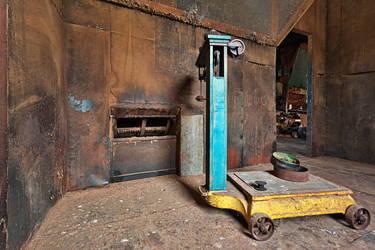 Abandoned Woolen Mill Scale