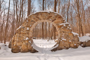 Winter Celtic Eye Trail by boldfrontiers