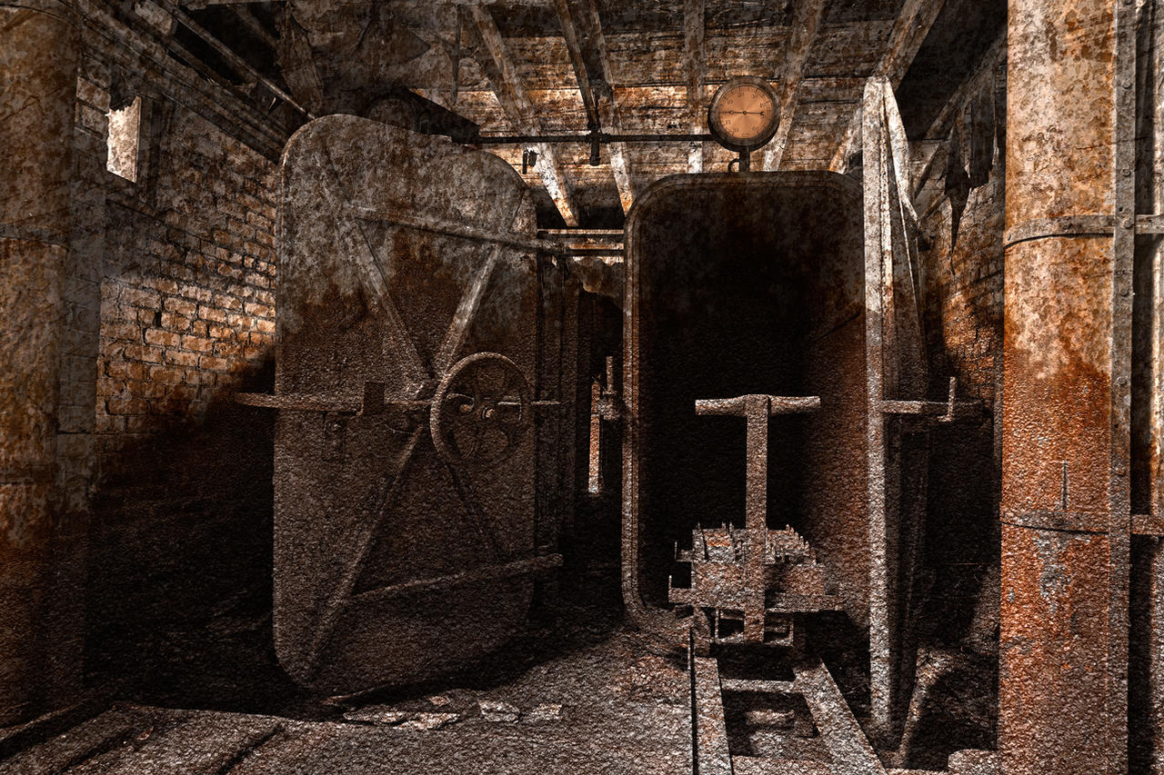 rusty grunge silk mill -#main