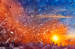 Acrylic Sunset Rapture