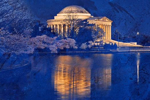 Acrylic Jefferson Memorial