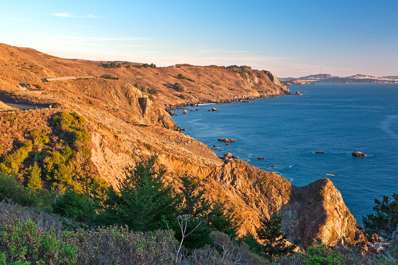 Golden Hour Coast - Point Reyes by somadjinn