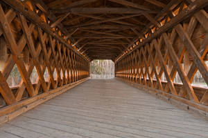 Sachs Covered Bridge III by boldfrontiers