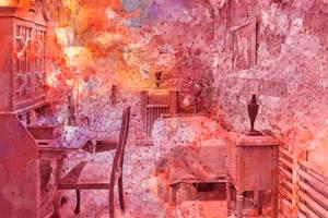 Al Capone's Vibrant Acrylic Cell