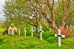 Hof Turf Church and Cemetery by boldfrontiers