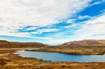 Cloudy Iceland River Bend - Vatnaleid