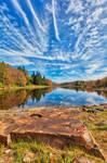 Cloudy Autumn Pendleton Lake