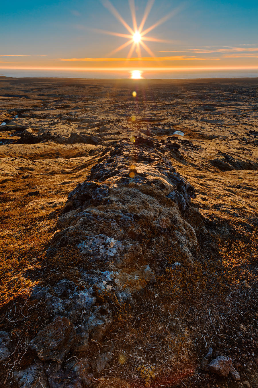 Iceland Sunburst by somadjinn