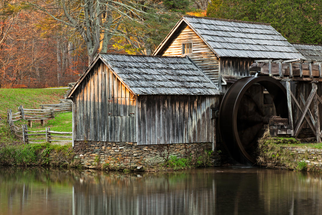 Autumn Mabry Mill By Somadjinn On Deviantart