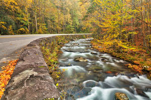 Winding River Road - Great Smoky Mountains by boldfrontiers