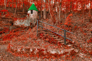 Autumn Christmas Castle by boldfrontiers