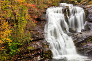 Bald River Autumn Falls by boldfrontiers