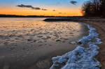 Quiet Waters Winter Twilight