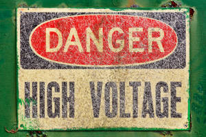Danger Sign - High Voltage (freebie) by boldfrontiers