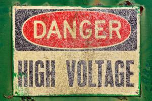 Danger Sign - High Voltage (freebie)