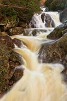 Sunburst Falls by boldfrontiers