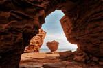Teapot Rock Frame (freebie) by boldfrontiers