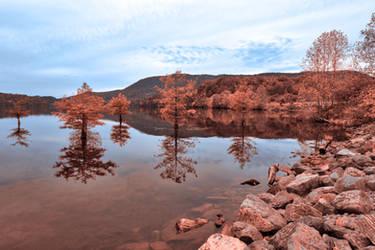 Ocoee Pastel Lake by boldfrontiers