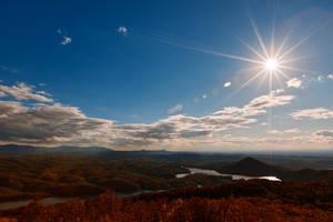Ocoee Sunburst by boldfrontiers