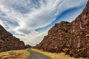 Thingvellir Rift Trail by boldfrontiers