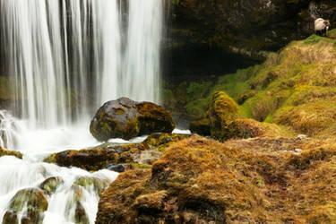 Iceland Ram Falls (freebie) by boldfrontiers