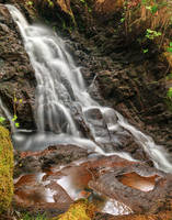 Dolwyddelan Puddle Falls by boldfrontiers