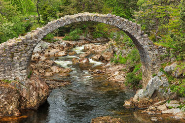 Old Scottish Packhorse Bridge