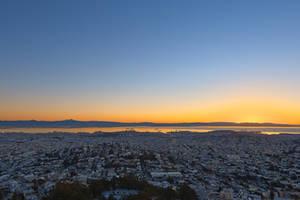 San Francisco Sunrise (freebie) by boldfrontiers