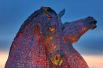 Falkirk Twilight Kelpies