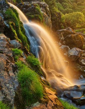 Glowing Loup of Fintry Waterfall