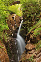 Aira Force Arch Waterfall by boldfrontiers