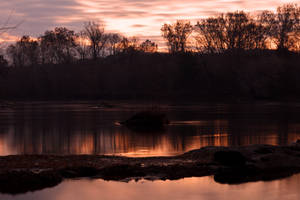 Potomac River Twilight - Swains Lock (freebie) by boldfrontiers