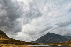Idwal Mountain Clouds by boldfrontiers